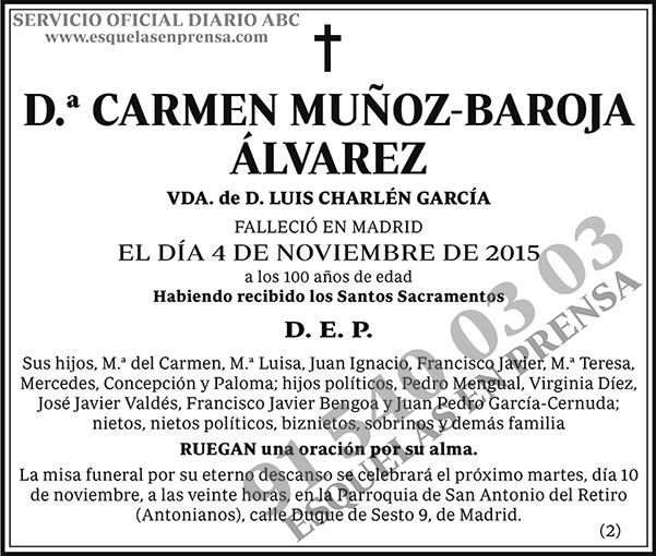 Carmen Muñoz-Baroja Álvarez